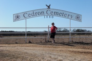 KC at Cedron Cemetary