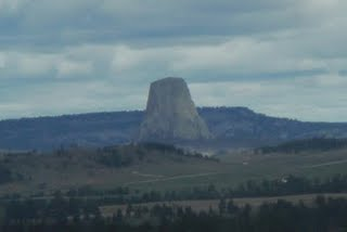 First View of Devil's Tower