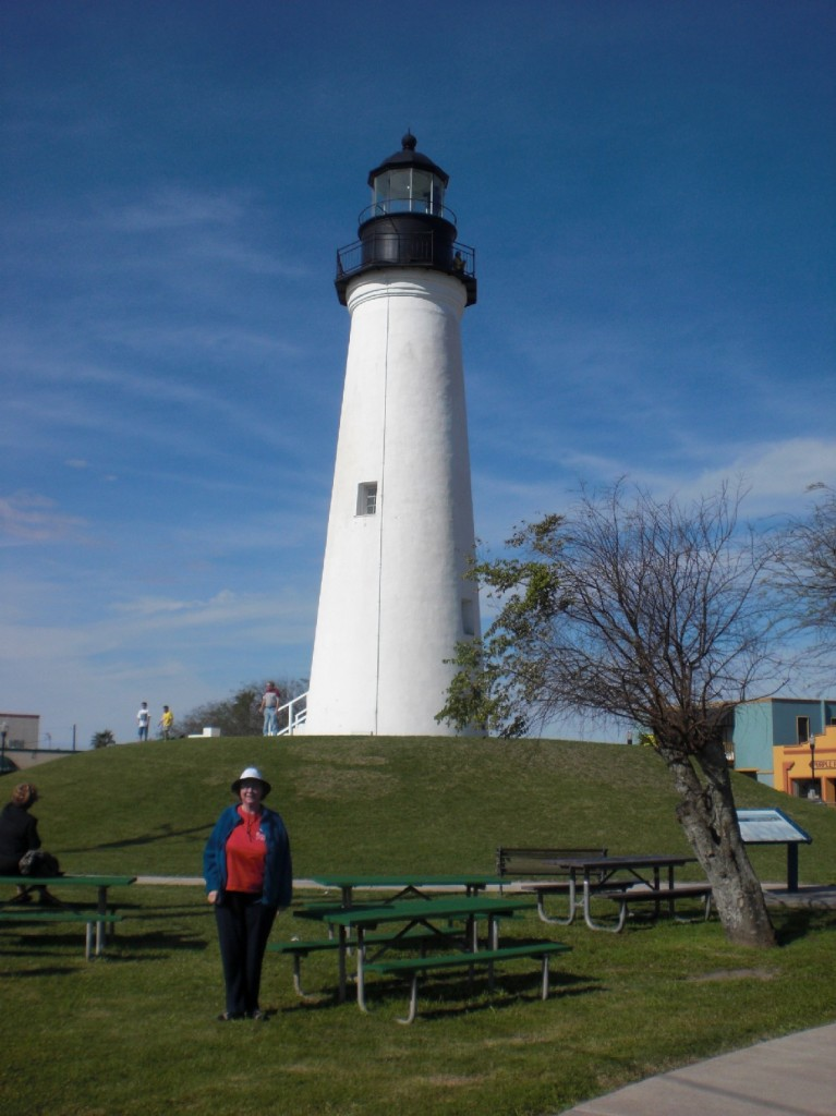 K.C at the Lighthouse