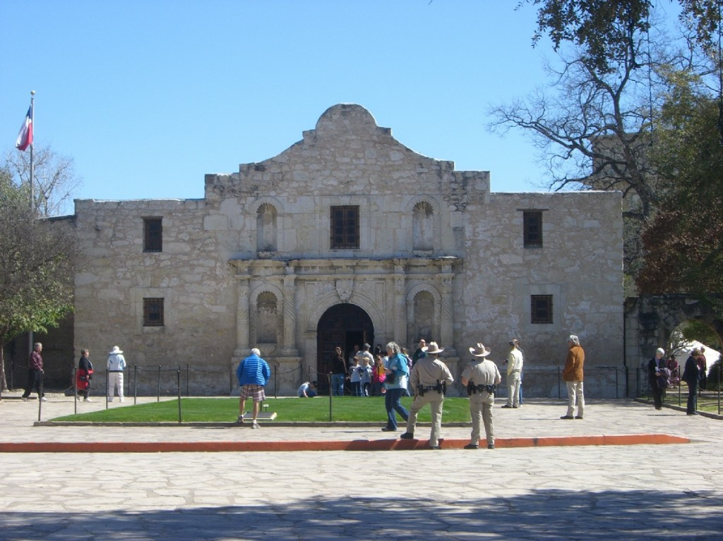 The Mission at The Alamo
