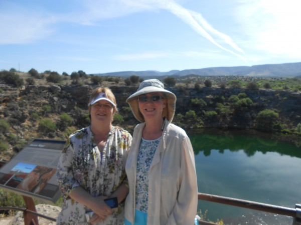 AnnaMarie and K.C. at Montezuma's Well