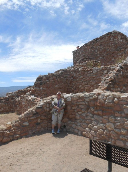 AnnaMarie at Tuzigoot