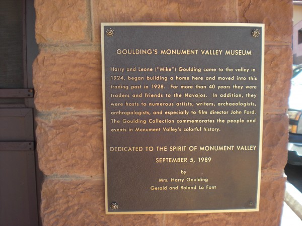 The Gouldings of Monument Valley