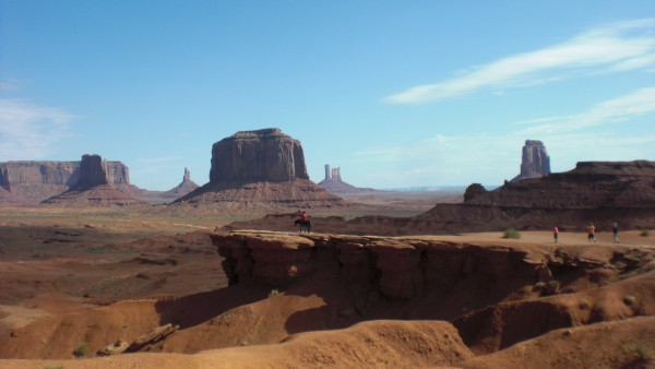 Enjoying my tour of Monument Valley
