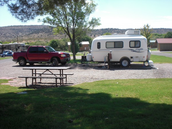 Camping at Verde Valley